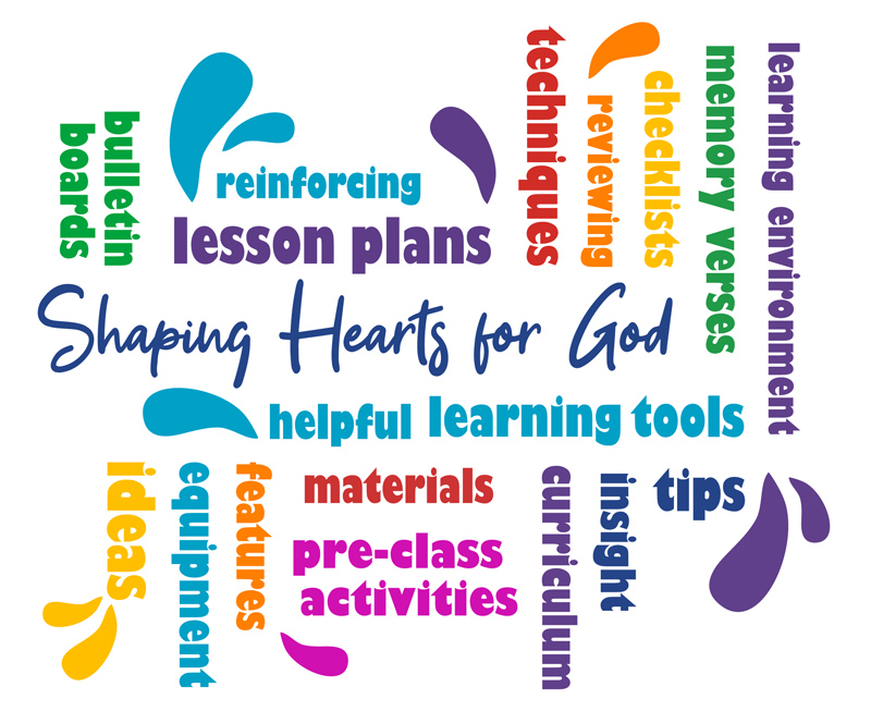 About Shaping Hearts - Word collage